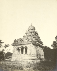 South-west view, Muktesvara Temple, Great Conjeeveram, Chingleput District